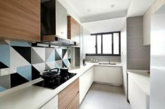 超有设计感光线十足的厨房装修设计图集