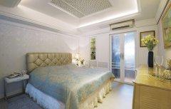70平米英式田园风格卧室装修效果图大全