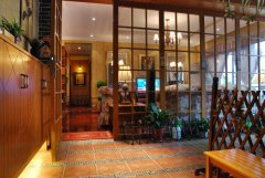 140平田园风格三室两厅精装修设计