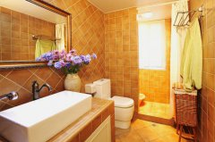 美式田园风格家具二居室装修效果图大全