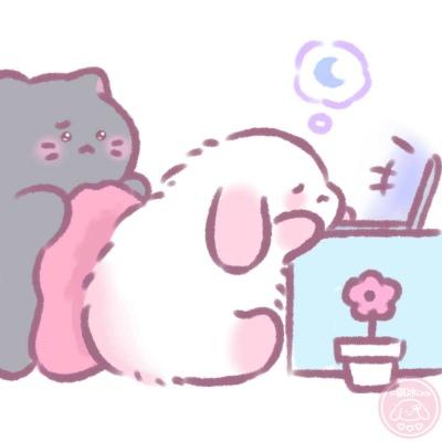 懒懒兔 原创作者@骐冰Qice
