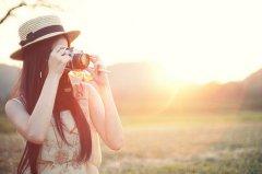 黄昏中的记忆唯美图片_定格在一个世界里