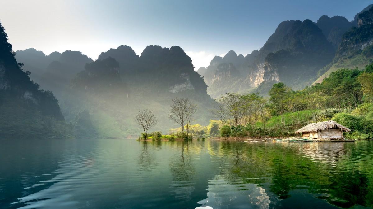 山水图片大全风景图片