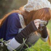 森系女子yy头像_清纯的森系女子