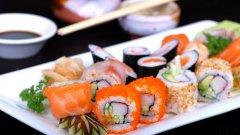高清魚子醬壽司圖片