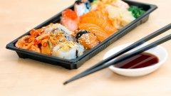 日本传统美食 好吃又美味的寿司图片