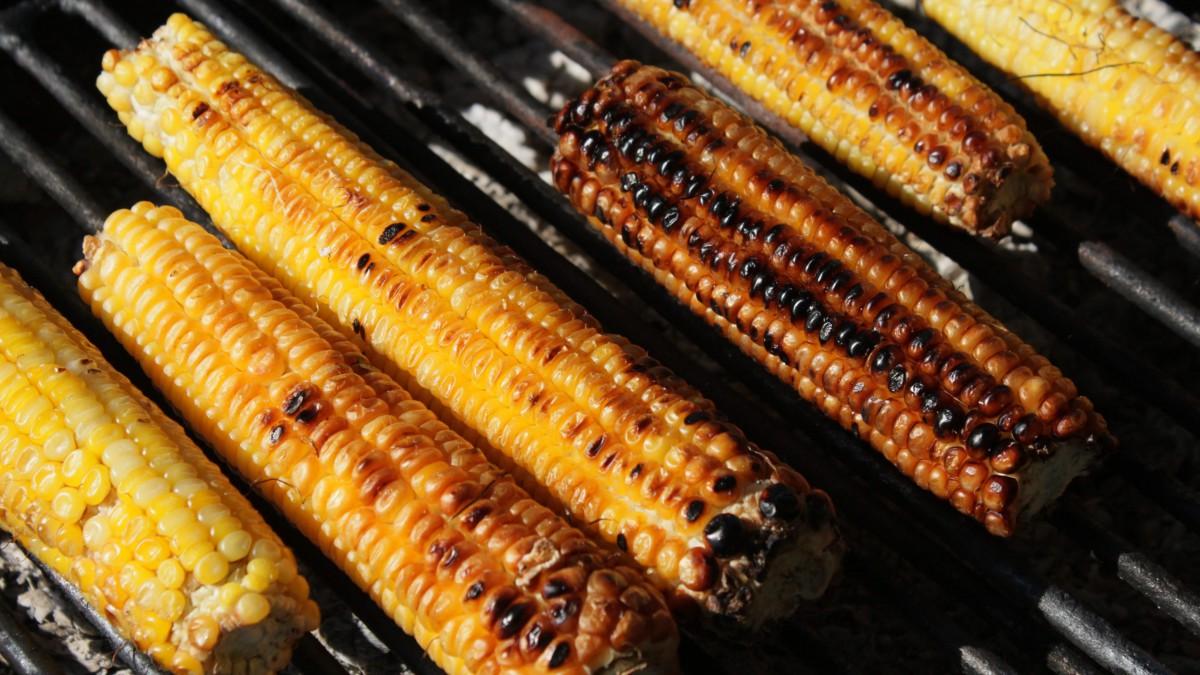 高清五谷玉米图片
