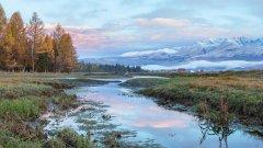 高清阿尔泰山图片