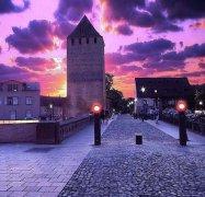 法国斯特拉斯堡唯美紫色浪漫小城图片
