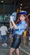 守望先锋DVA性感迷人cosplay图片