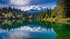 瑞士格劳宾登迷人风景图片