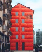 米兰商业街Gucci Art wall涂鸦墙图片