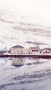 冬季雪下的欧美乡村风光图片