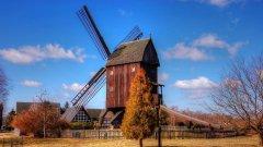 高清荷兰风车图片大全