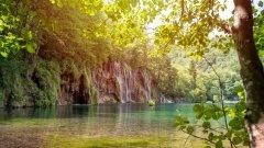 克罗地亚普利特维采湖图片