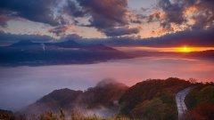 日本九州岛熊本风景图片