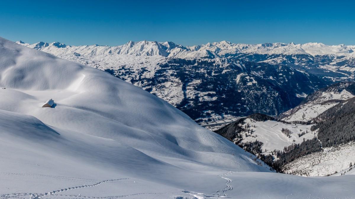 冬季冰雪风景图片