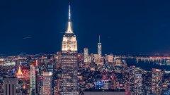 纽约曼哈顿天际线图片
