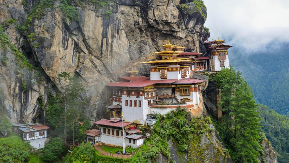 不丹虎穴寺图片